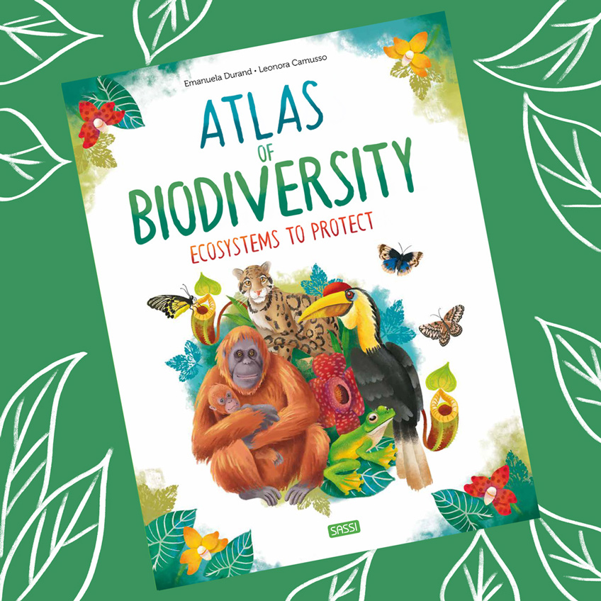 Book cover Altas of biodiversity - Escosystems to protect